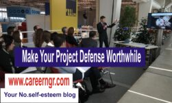 How to be confident in your project defense